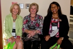 Cheryl Walker (L), Peggy Vernon (C), Shirley Becton McKenzie (R), of NNPS Program Committee