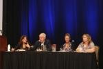 Ethics Forum - (L-R) Nancy Rudner, Richard Lamm, Kelly Arora, Jeanie Youngwerth
