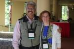 Conrad Rios (L) & Theresa Mallick-Searle (R)