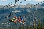 Chairlift ride (photo credit Bob Winsett)